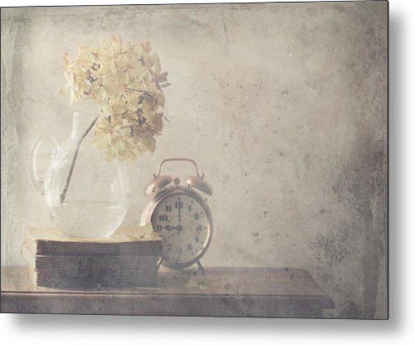 Disillusionment Of Nine Oa??clock Metal Print by Delphine Devos