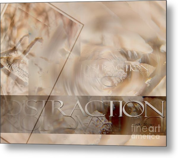 Metal Print featuring the photograph Distraction by Vicki Ferrari