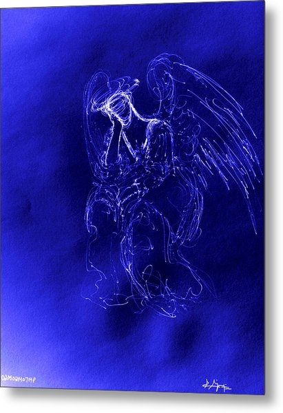 Divine Angel Metal Print
