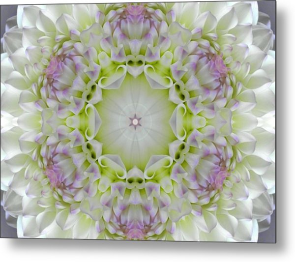 Divine Grace Mandala Metal Print