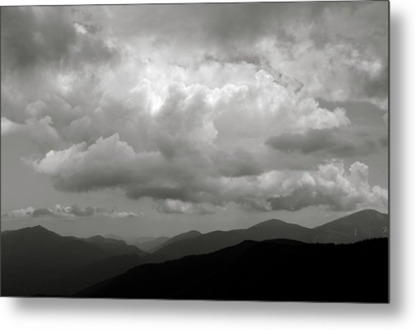 Dix Mt View Metal Print
