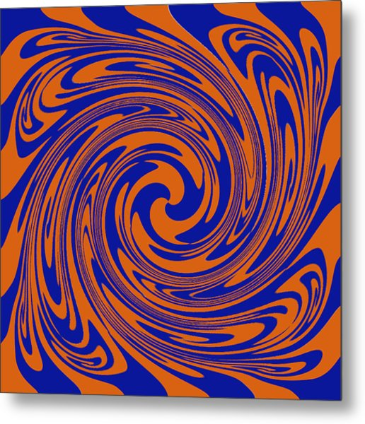 Dizziness Metal Print by Soumya Bouchachi
