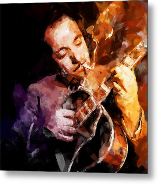 Django Reinhardt Metal Print by Andy Whorewal
