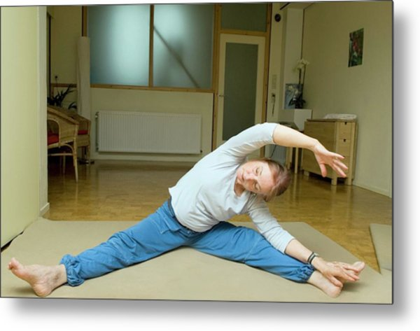 Do-in Exercises Metal Print