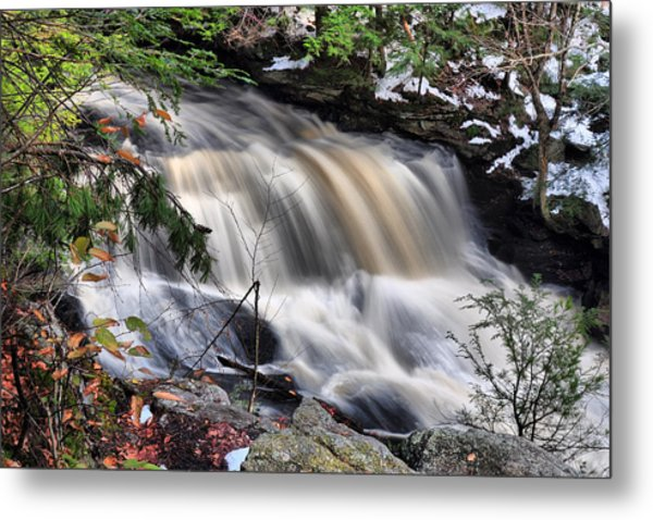 Doane's Lower Falls In Central Mass. Metal Print