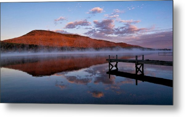 Dockside Morning Metal Print