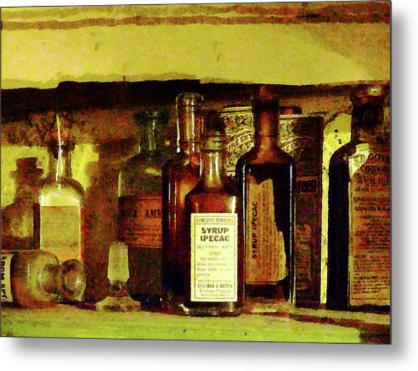 Doctor - Syrup Of Ipecac Metal Print