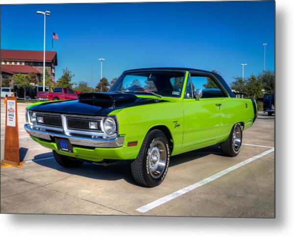 Dodge Dart Swinger Metal Print