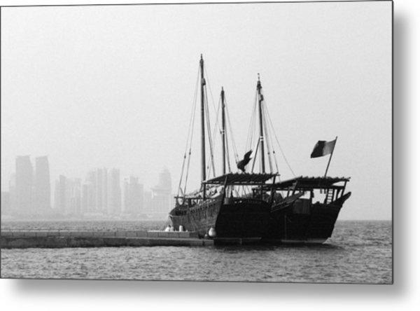 Doha Bay 2011 Metal Print