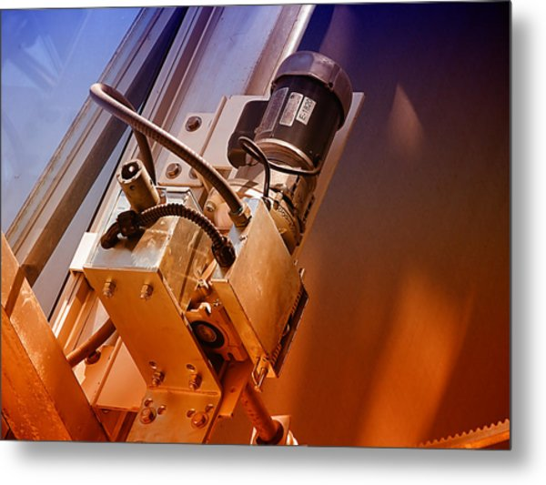 Doing Windows Metal Print by Wendy J St Christopher