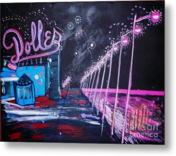 Dolles And Orion  Metal Print