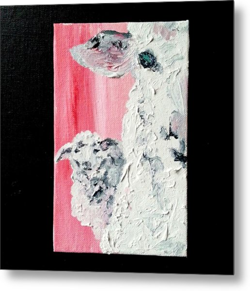 Dolly And Dot Metal Print