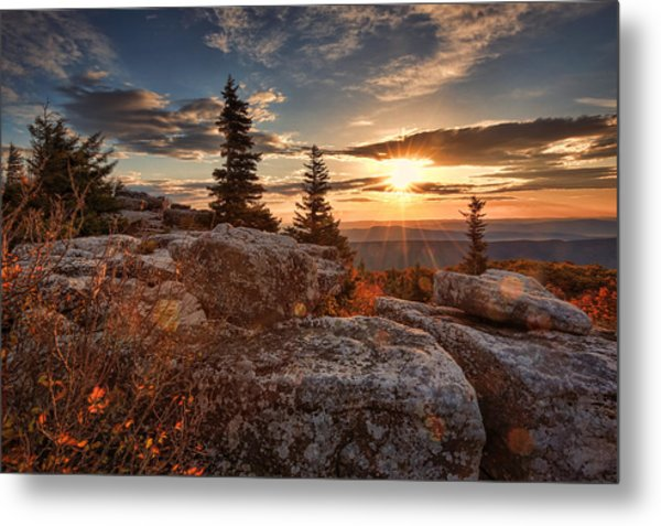Dolly Sods Morning Metal Print