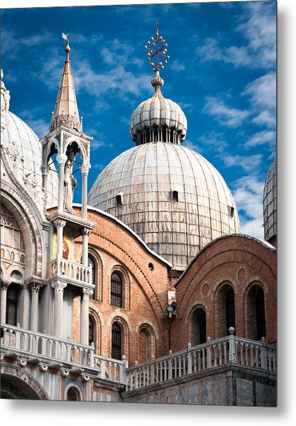 Dome Of St Marks Metal Print