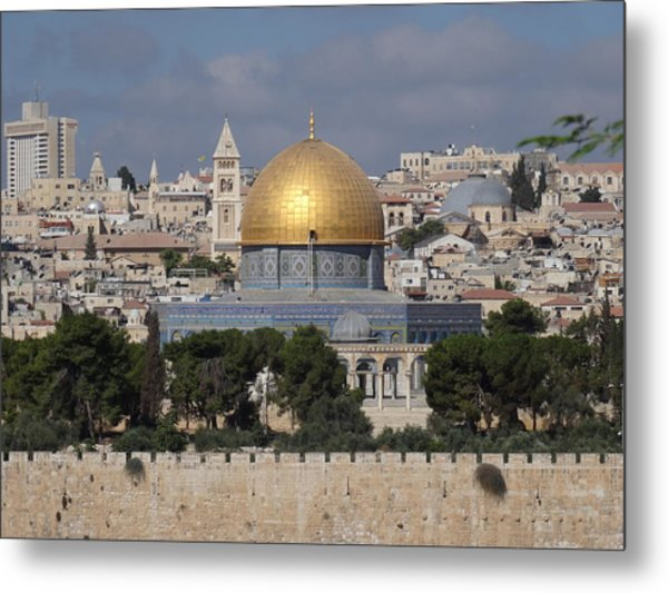 Dome On The Rock  Metal Print