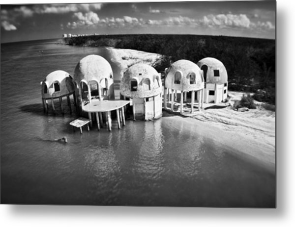 Domes Of Romano Metal Print