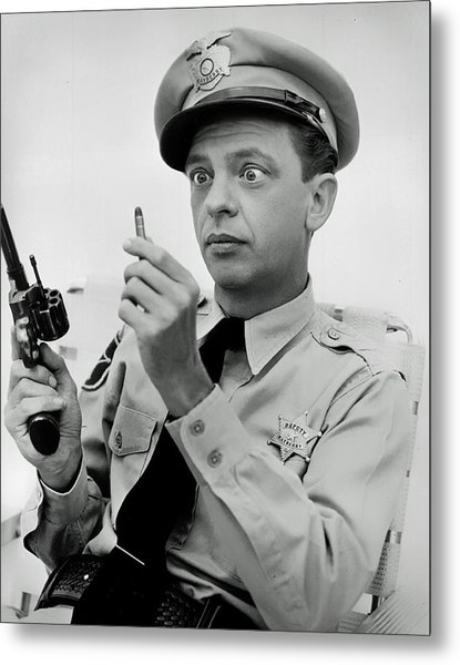 Barney Fife - Don Knotts Metal Print