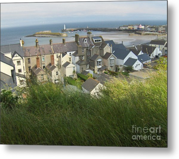 Donaghadee Northern Ireland View From The Moat Metal Print