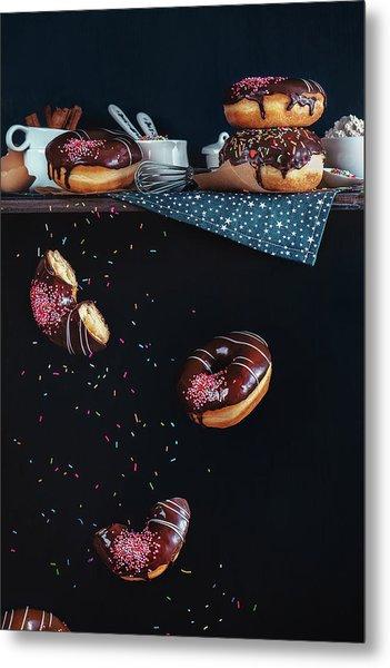 Donuts From The Top Shelf Metal Print by Dina Belenko