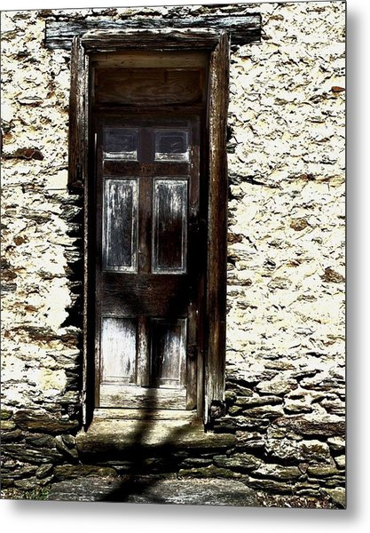 Door 3769 Metal Print