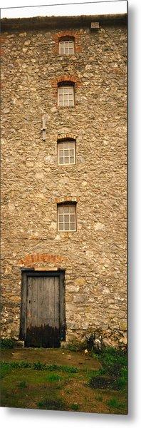 Door Of A Mill, Kells Priory, County Metal Print