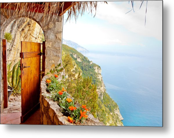 Door To Paradise Metal Print