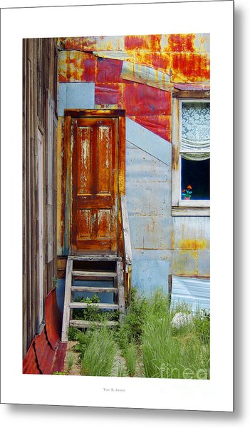 Door To The Past  St. Elmo Metal Print