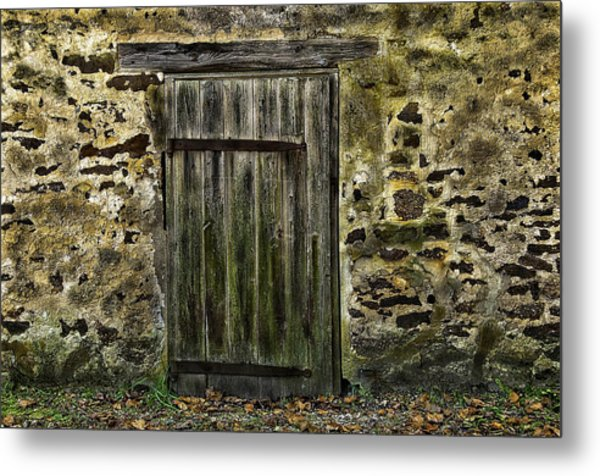 Door To Yesterday Metal Print