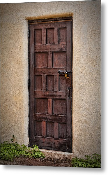 Door To Your Id ...  Metal Print