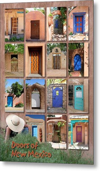 Doors Of New Mexico II Metal Print