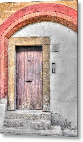 Doorway 13 Metal Print