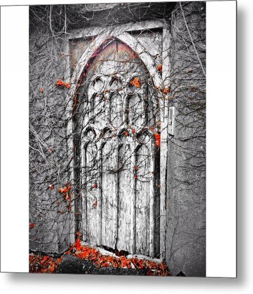 Doorway In Cork Metal Print by Maeve O Connell