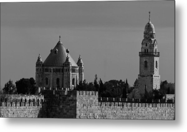 Dormition Abbey Metal Print by Amr Miqdadi
