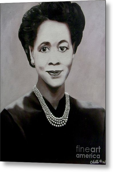 Dorothy Height Metal Print
