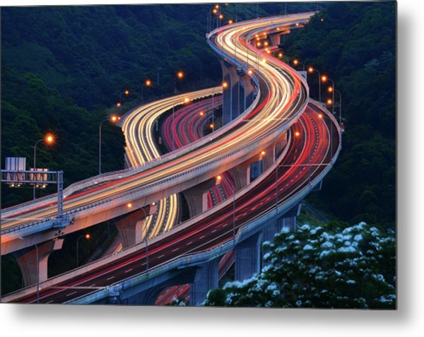 Double S Metal Print by Kecl