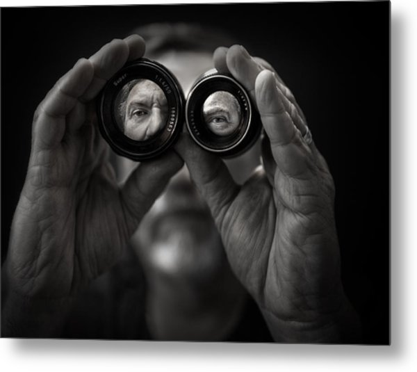 Double Vision Metal Print by Photo by marianna armata