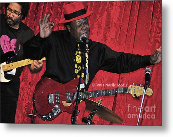Doug Lewis And Norman Sylvester Metal Print