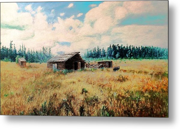 Douglas Lake Ranch  Metal Print