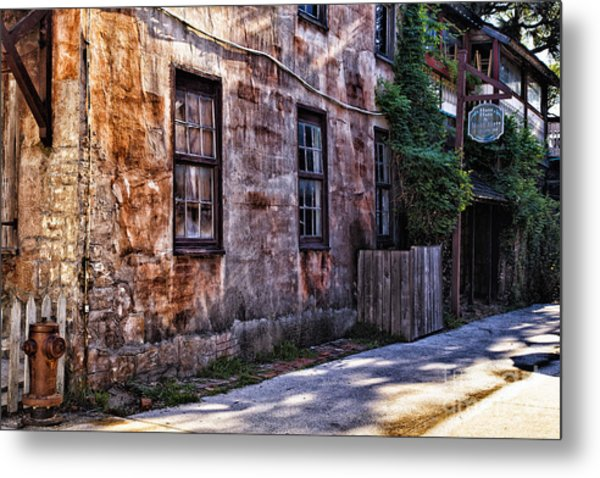 Down By The Old Mill Metal Print