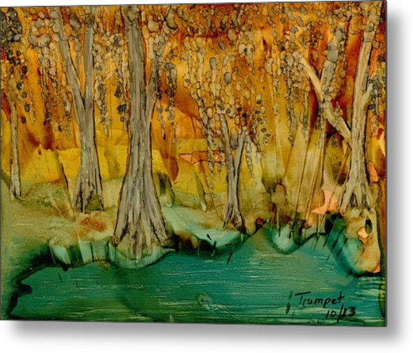 Down On The Bayou Metal Print