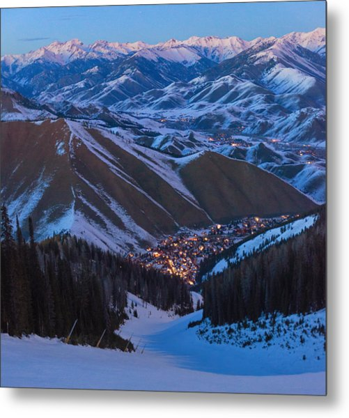 Down To Warm Springs Metal Print