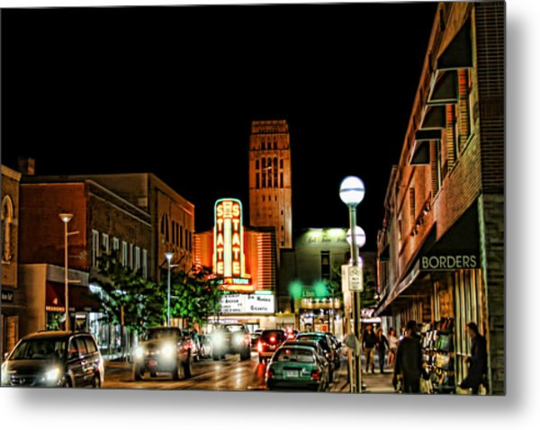 Downtown Ann Arbor Metal Print