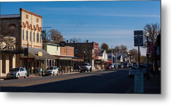 Downtown Boerne Metal Print
