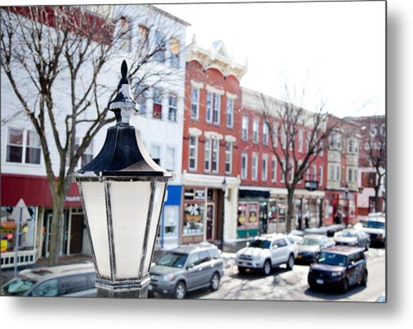 Downtown Brockport I Metal Print