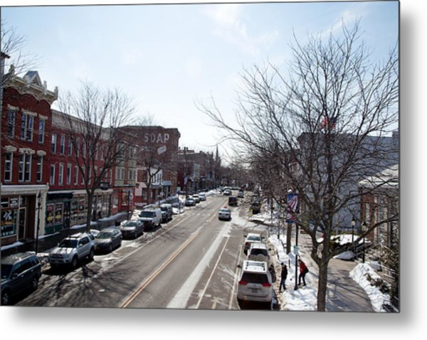 Downtown Brockport IIi Metal Print