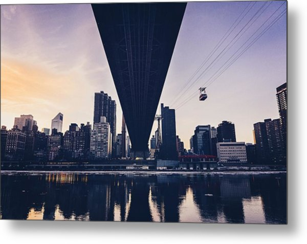 Downtown District Of Roosevelt Island Metal Print