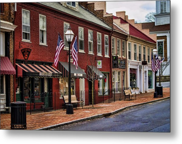 Downtown Jonesborough Tn Metal Print