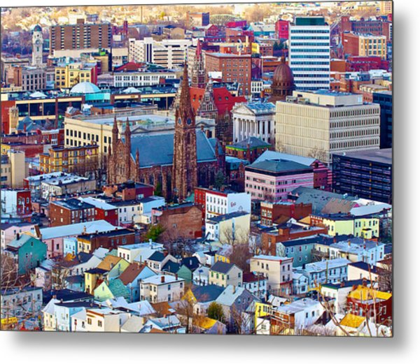 Downtown Paterson Metal Print