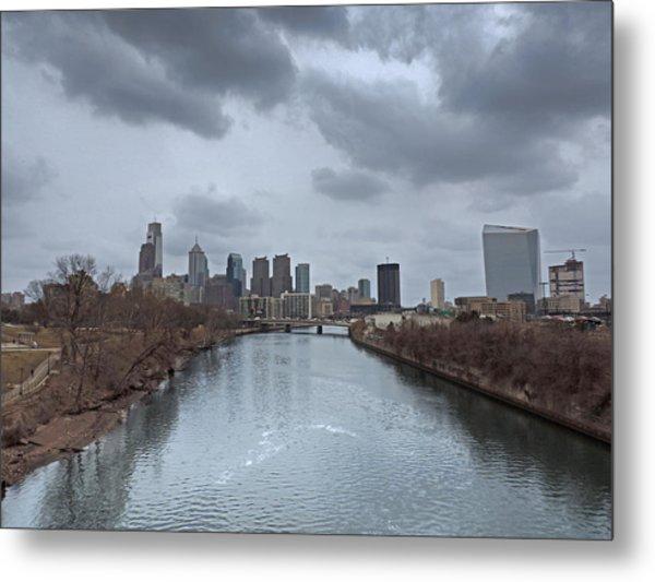 Downtown Philadelphia Skyline Metal Print