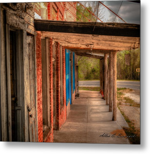 Downtown Richards Texas Metal Print